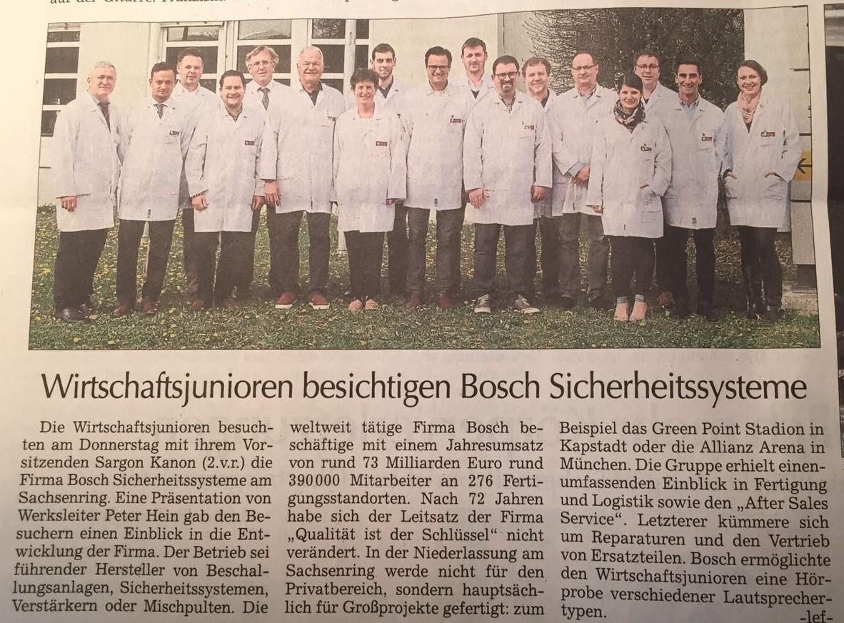 Besichtigung Bosch