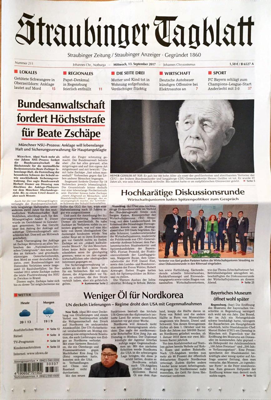 Generationengipfel Titelseite