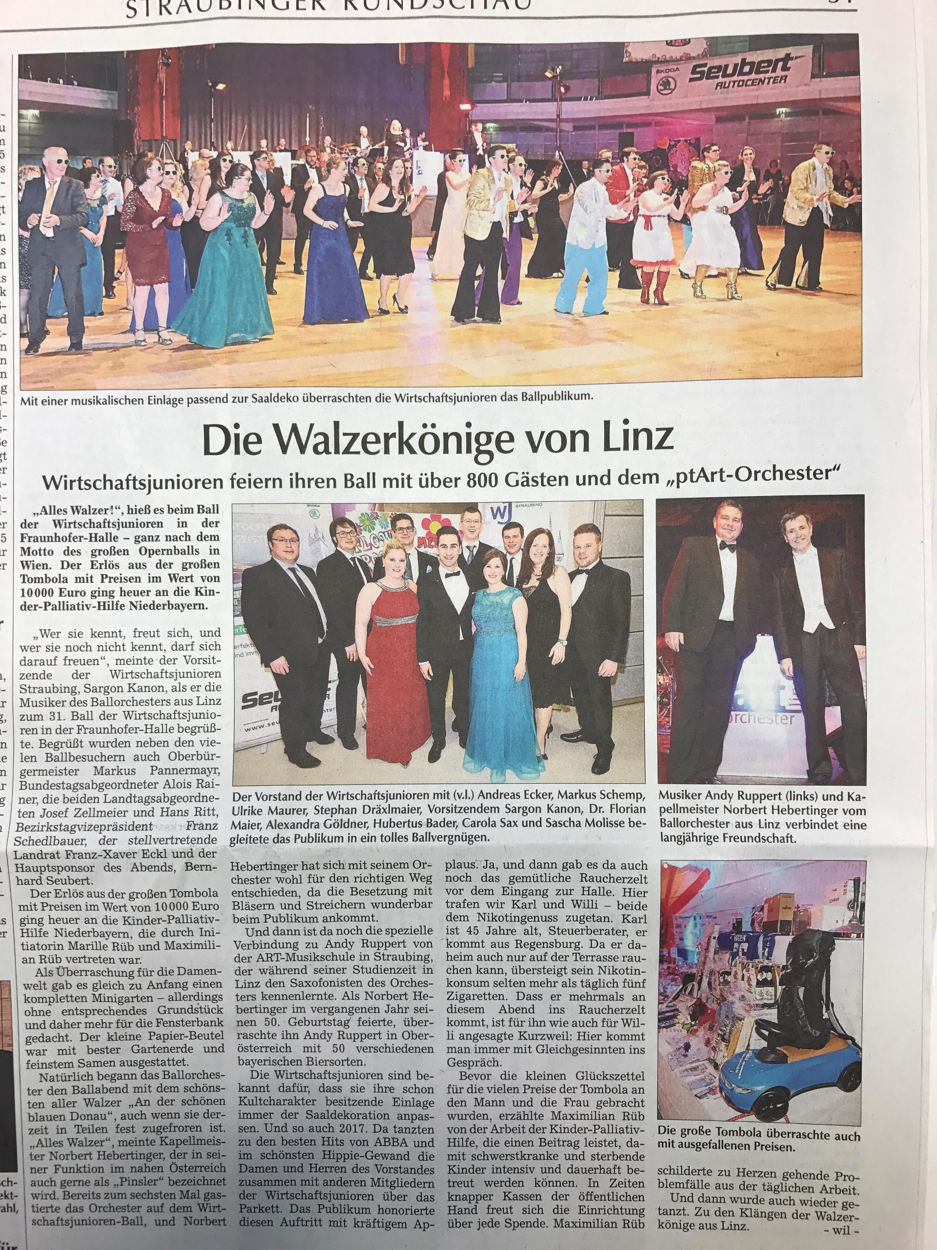 Bericht Tagblatt Ball 2017